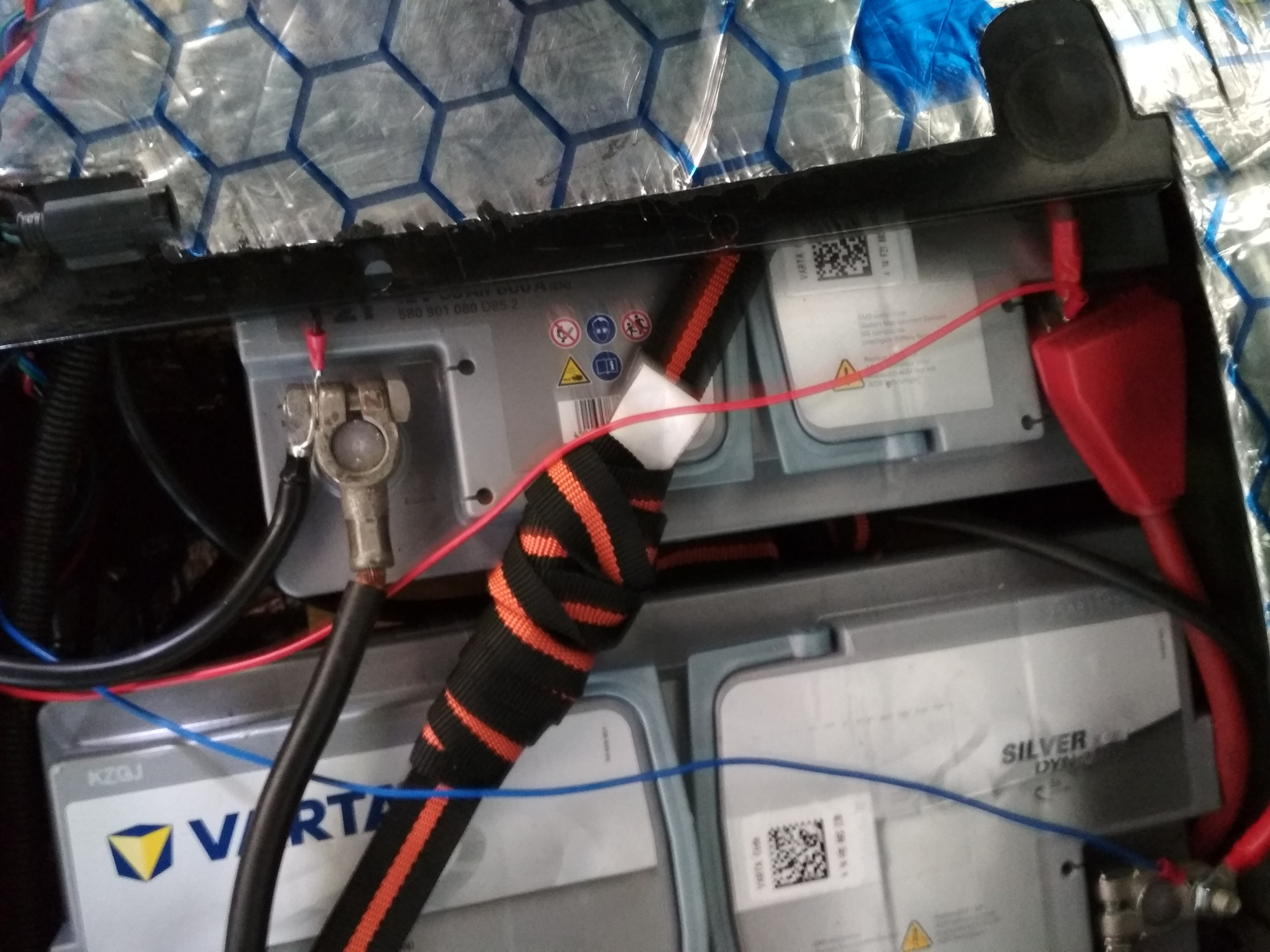 Dual Battery System With Solar Step By Instructions Ctek Wiring Diagram A Few More Pictures Of The Finished